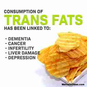 Consumption of trans fats hazardous to your health