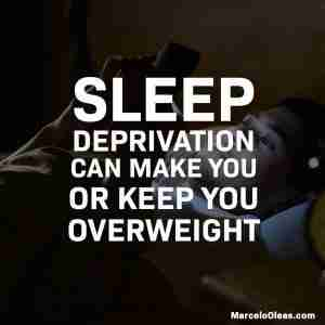 How sleep deprivation affects weight