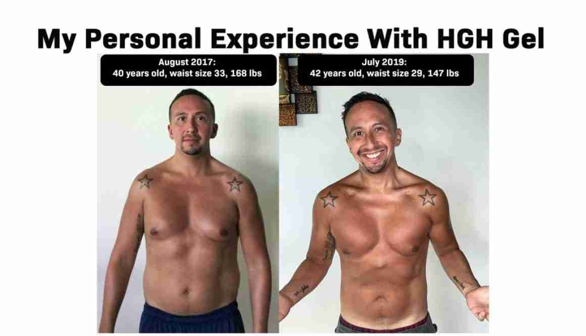 Marcelo Oleas HGH Gel Experience