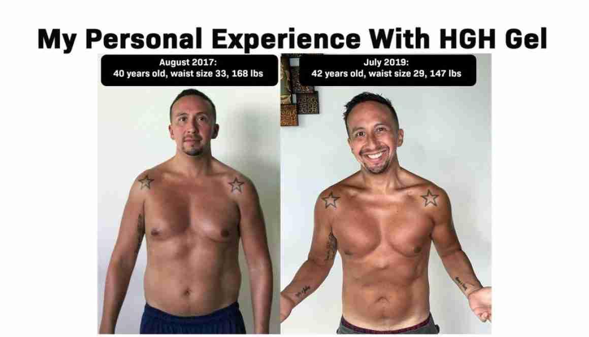 Marcelo Oleas HGH Gel Experience