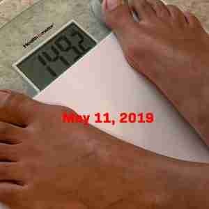 KetoGen4 - May 11, 2019 Weight