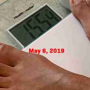 KetoGen4 - May 6, 2019 Weight