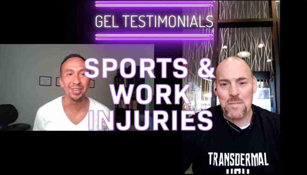 HGH Gel - Work & Sports Injuries
