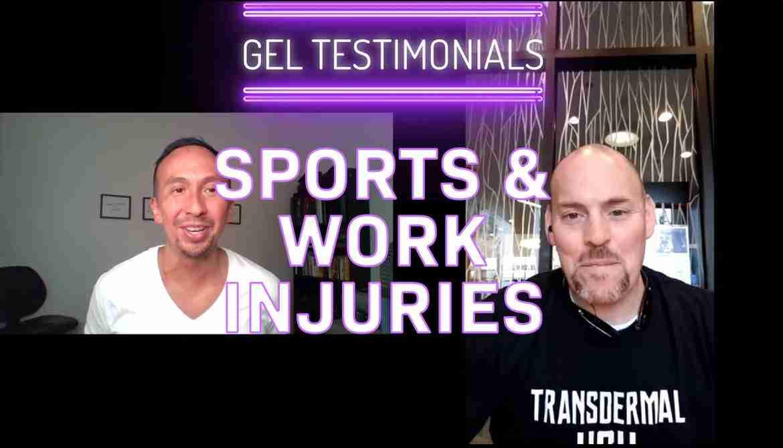 HGH Gel - Work & Sports Injuries
