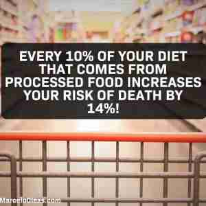 Processed food increases risk of death