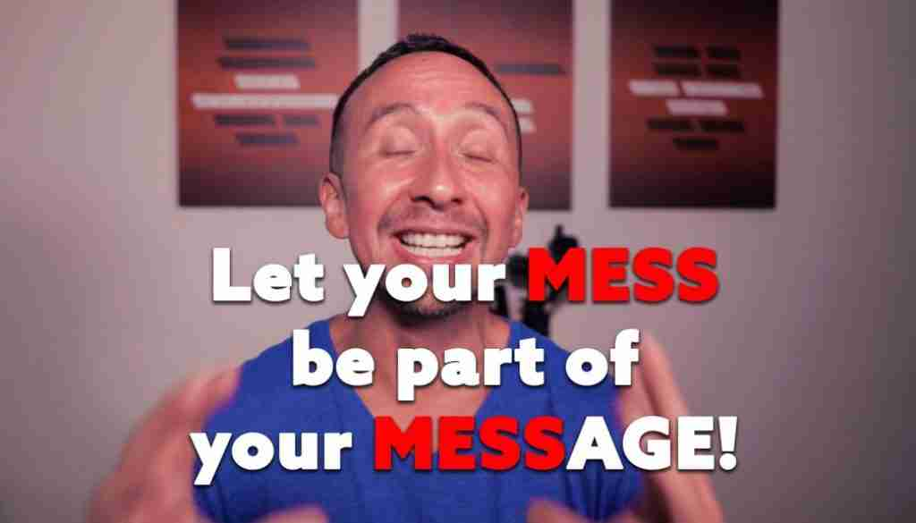 Marcelo Oleas - let your mess be part of your message