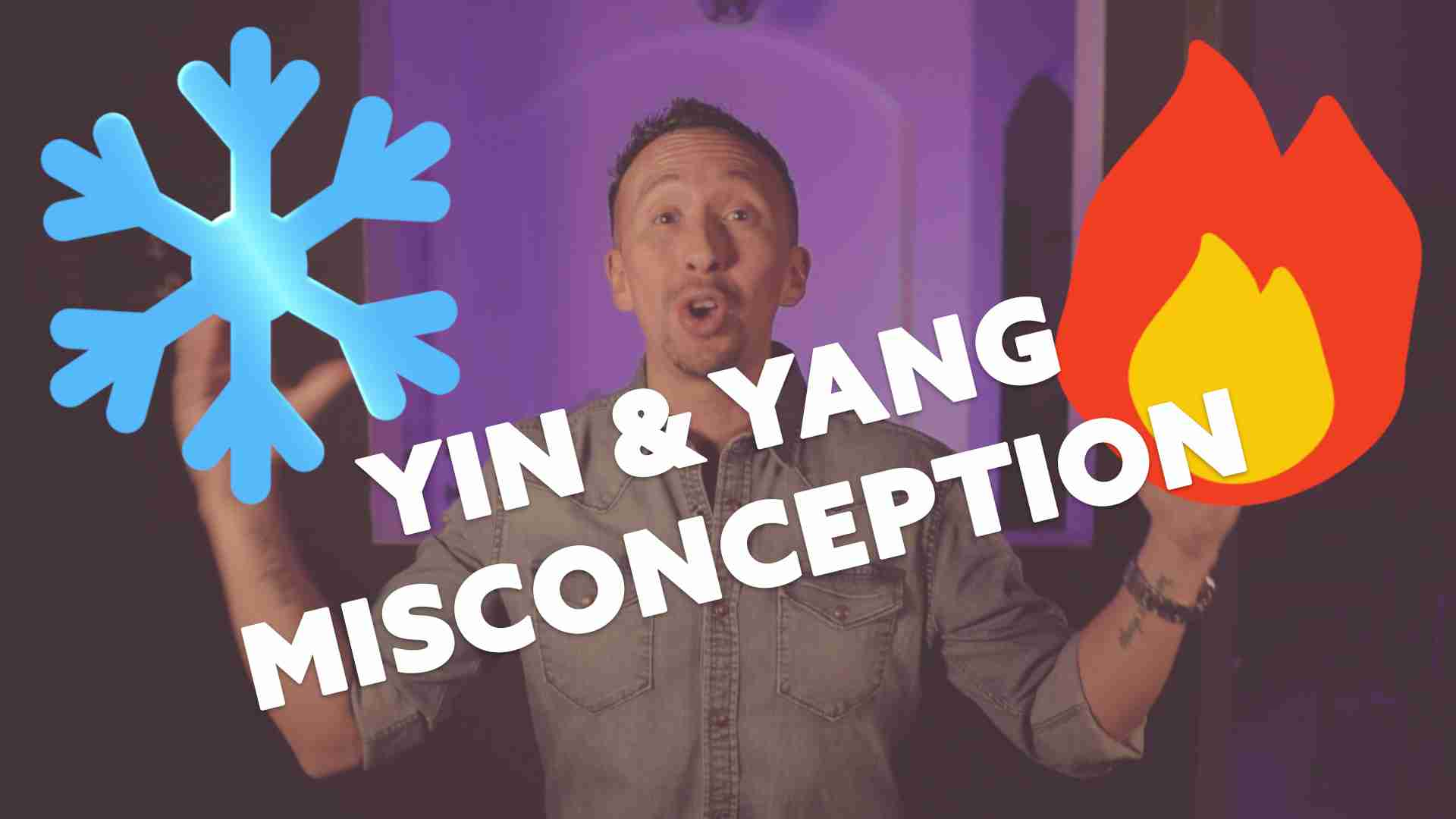 Marcelo Oleas explains yin and yang misconception