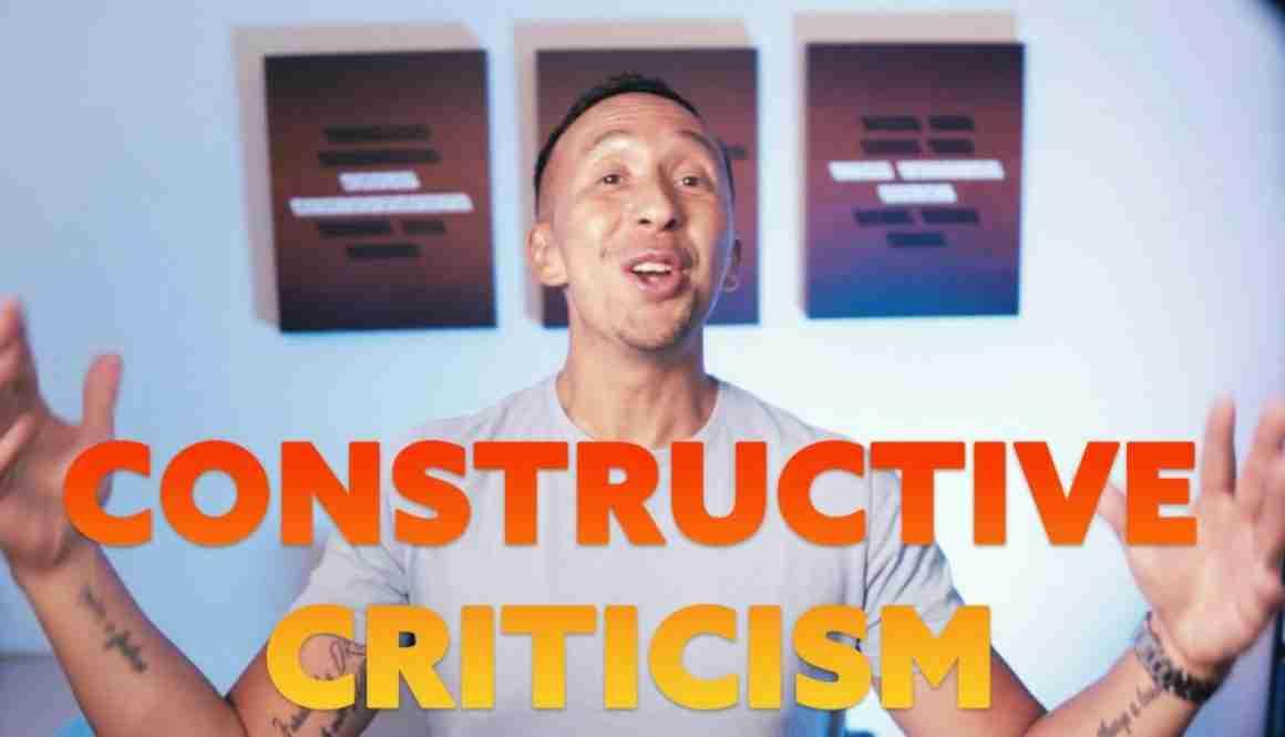 Marcelo Oleas - Don't be afraid of constructive criticism